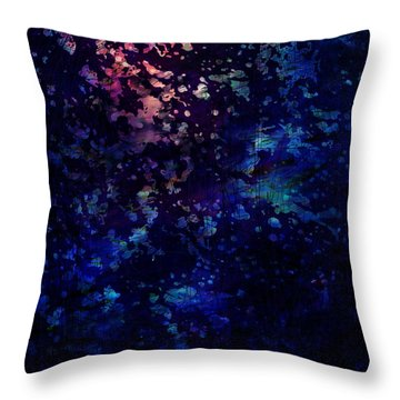 Joy Comes In The Morning Throw Pillow by Rachel Christine Nowicki