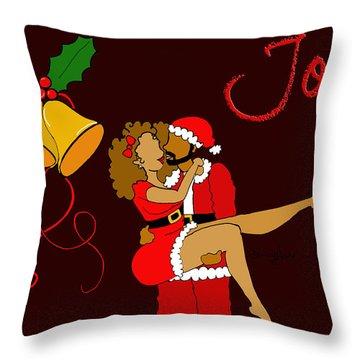 Joy Throw Pillow by Diamin Nicole