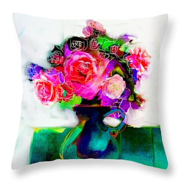 Joy Throw Pillow by Linde Townsend