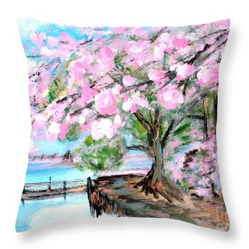 Joy Of Spring. For Sale Art Prints And Cards Throw Pillow