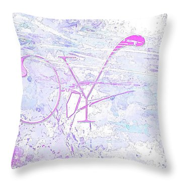 Joy River Throw Pillow