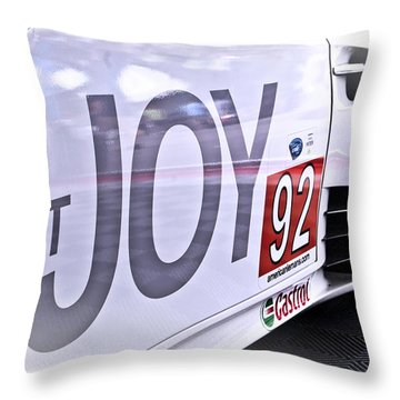 Joy Toy Throw Pillow by Scott Wyatt