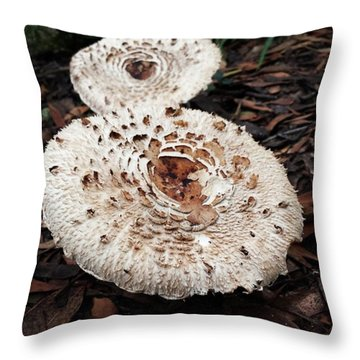 Throw Pillow featuring the photograph Joy Walking In The Woods by Mr Photojimsf