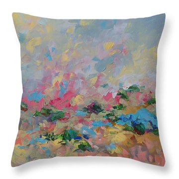 Joyful Day Throw Pillow