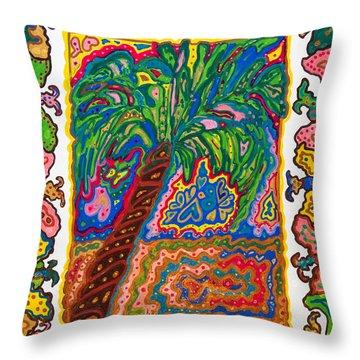 Joyful Flight - II Throw Pillow