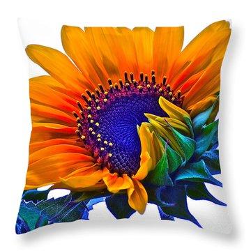 Joyful Throw Pillow by Gwyn Newcombe