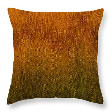Joyful Harvest Throw Pillow