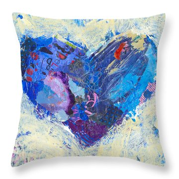 Joyful Heart 8 Throw Pillow