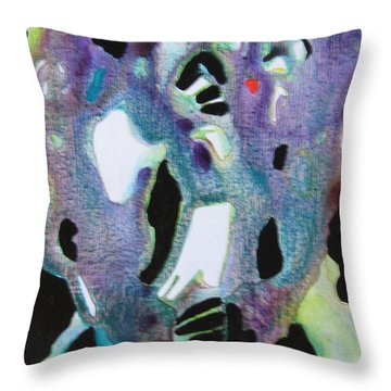 Joyful Heart Throw Pillow