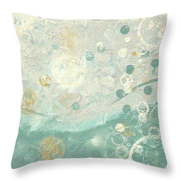 Joyful Throw Pillow by Kristen Abrahamson