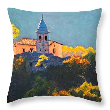 Joyful Morning Throw Pillow