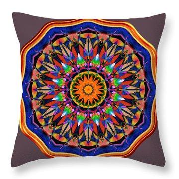 Joyful Riot Throw Pillow