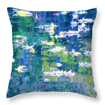 Joyful Sound Throw Pillow