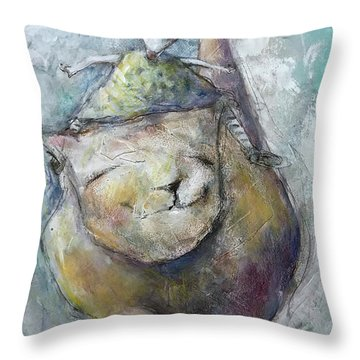 Joyful Trust Throw Pillow