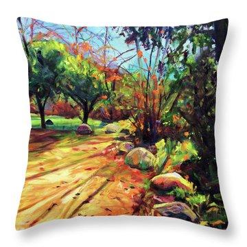 Joyous Light Throw Pillow