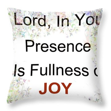 Joys Of Life Throw Pillow