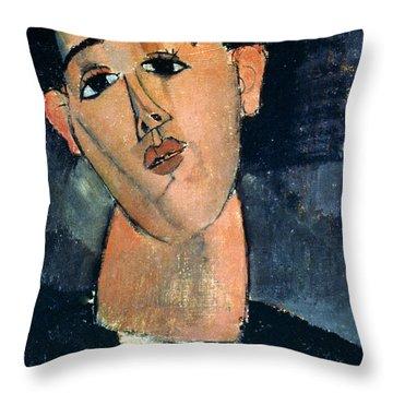 Juan Gris (1887-1927) Throw Pillow by Granger