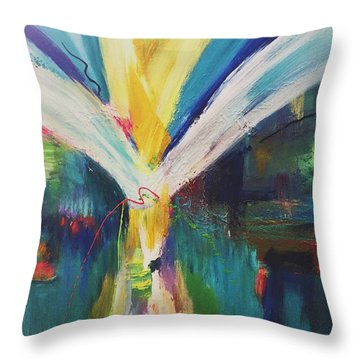 Jubilant Throw Pillow