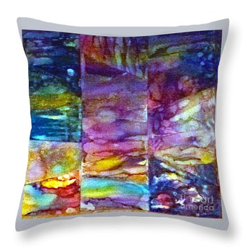 Jubilation Throw Pillow