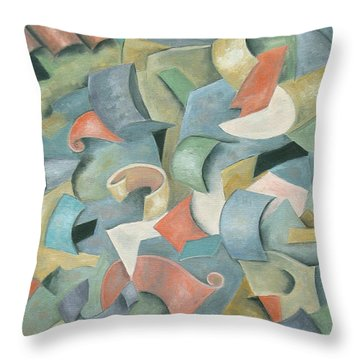Jubilation Throw Pillow by Trish Toro
