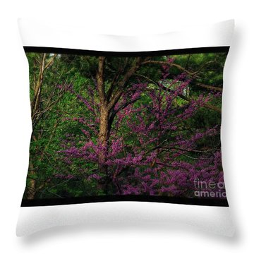 Judas In The Forest Throw Pillow