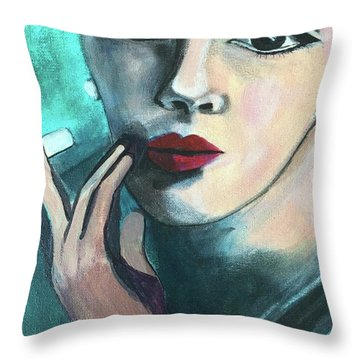 Silently Judging You Throw Pillow
