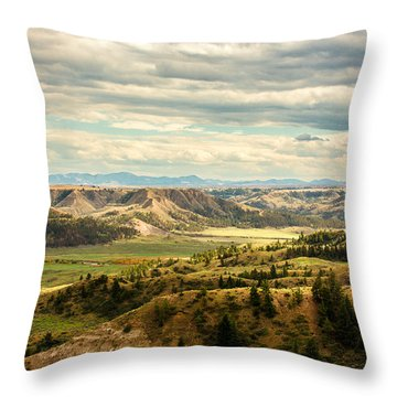 Judith River Breaks Throw Pillow
