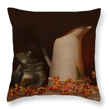 Jugs Throw Pillow