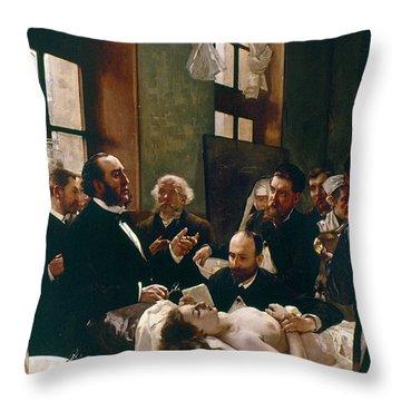 Jules Emile Pean (1830-1898) Throw Pillow by Granger