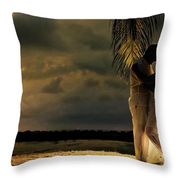 Julio And Blanca Riascos Throw Pillow