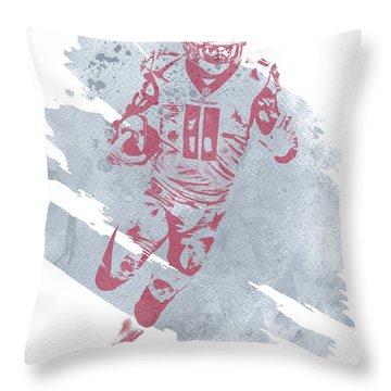 Julio Jones Throw Pillows
