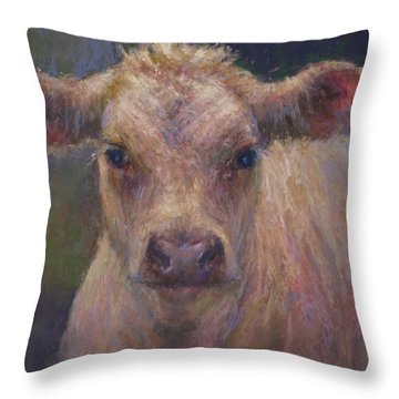 Julius Throw Pillow by Susan Williamson