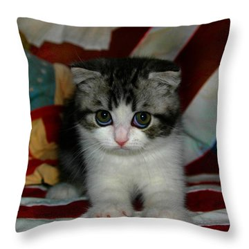 July 2005 Throw Pillow