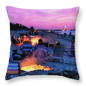 July Fourth 2016 Throw Pillow