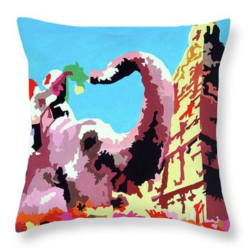 Jumbo Jurney Throw Pillow