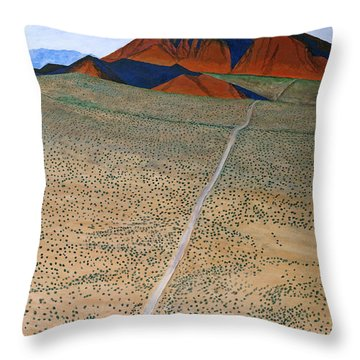 June 1934 Throw Pillow