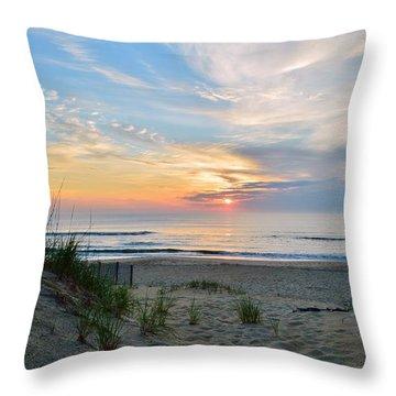 June 2, 2017 Sunrise Throw Pillow