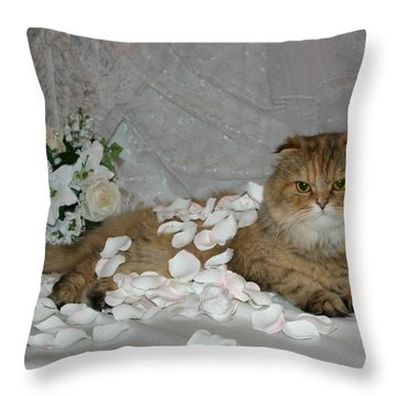 June 2005 Throw Pillow