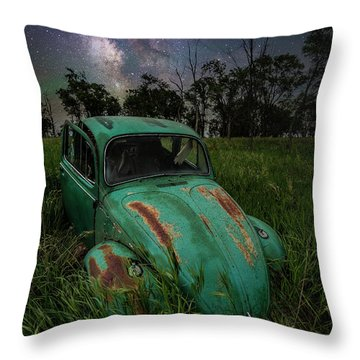 Throw Pillow featuring the photograph June Bug by Aaron J Groen