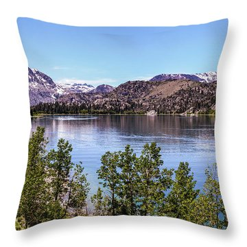 June Lake Throw Pillow