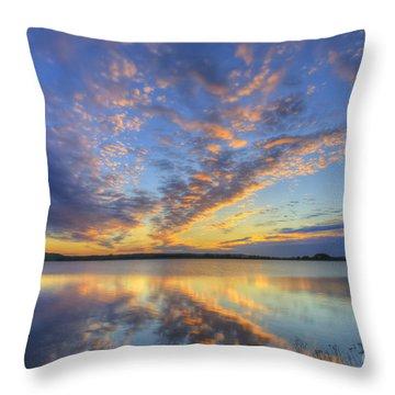 June Morning Throw Pillow
