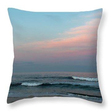 June Sky Seaside New Jersey Throw Pillow
