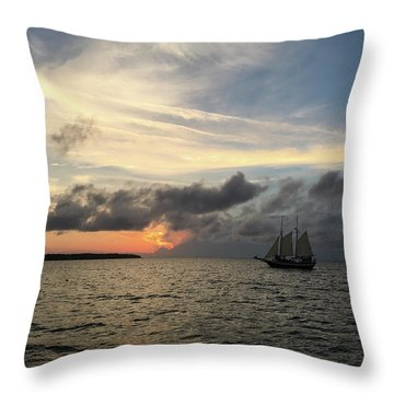 Throw Pillow featuring the photograph June Sunset by Gregg Southard