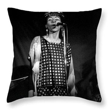 June Tyson Throw Pillow