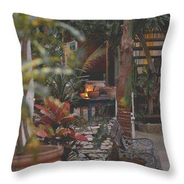 Jungle Living Throw Pillow