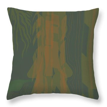 Jungle Stripe Throw Pillow