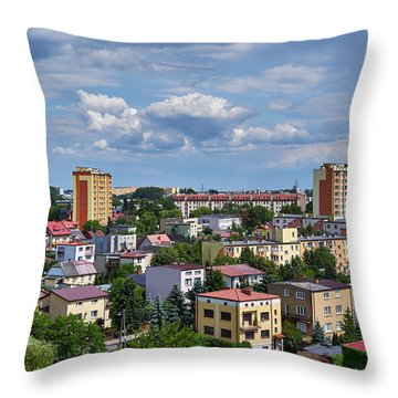 Jungle Warfare Throw Pillow