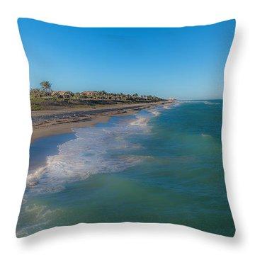 Juno Beach Throw Pillow
