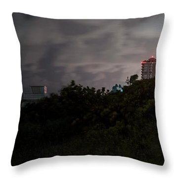 Throw Pillow featuring the photograph Juno Beach by Laura Fasulo