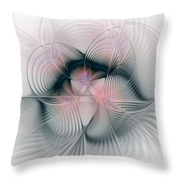 Junos Mercy - Fractal Art Throw Pillow